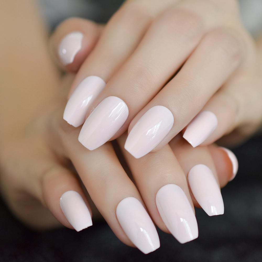 light-pink-coffin-shiny-acrylic-nails-medium